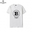 軽やかに着こなす人気新作 バルマン tシャツ メンズ BALMAIN コピー ブラック ホワイト ロゴ カジュアル 通勤通学 完売必至