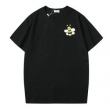 DIOR X KAWS BEE コットン Tシャツ 前衛的なスタイルで大歓迎 ディオール メンズ コピー ブラック ホワイト カジュアル お買い得