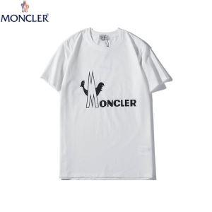モンクレール Tシャツ コピー ナチュラルな風合いが素敵 MONCLER コットン メンズ デイリー 3色可選 限定通販 最低価格
