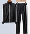 フェンディ ジャケット コピー モダンなデザインが素敵 メンズ FENDI ブラック セット ソフト ストリート ブランド 格安