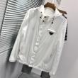 PRADA ジャケット 2020限定 大人こなれ感をプラス メンズ プラダ コピー 激安 ブラック ホワイト 通気性 ブランド 品質保証