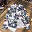 トレンド感をアップ GIVENCHY シャツ 2020新作 メンズ ジバンシィ コピー 通販 2色可選 プリント おしゃれ 限定セール
