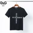 2色可選 春夏のシックさに映える  半袖Tシャツ 通年のファッションで使いやすい ドルチェ&ガッバーナ Dolce&Gabbana