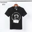 2色可選 バルマン 大人らしくて上品な雰囲気が魅力 BALMAIN 最旬スタイルに 半袖Tシャツ