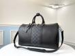 Louis Vuitton ボストンバッグ 限定 機能性高い着こなしに ルイヴィトン レディース コピー 黒 レザー おすすめ 最安値 M53763