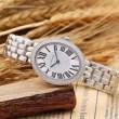 2016 CARTIER カルティエ 値下げ!ダイヤベゼル 輸入 クオーツ ムーブメント 女性用腕時計 5色可選