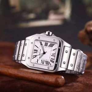 2016 高級感溢れるデザイン CARTIER カルティエ スイス輸入クオーツムーブメント 男性用腕時計 4色可選