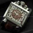 HOT品質保証GaGa MILANO ガガミラノ 時計 ナポレオン 日本製クオーツ 本革 レザー ベルト カジュアル 日付表示 夜光効果