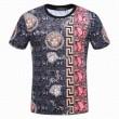 2018春夏新作 ムダな装飾を排したデザイン 半袖Tシャツ ヴェルサーチ VERSACE 個性派