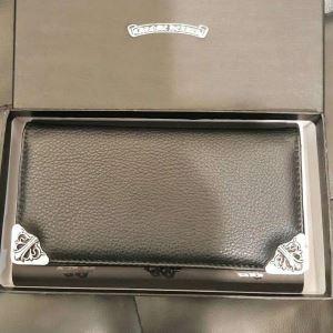 お買い得高品質CHROME HEARTS クロム ハーツ 財布 コピー シングル フォールド グロメット 二つ折り財布  ロングウォレット