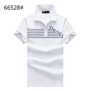 2018春夏人気定番DIESELディーゼル tシャツポロシャツスポーツウェアゴルフウェア半袖立ち襟細身紳士4色可選