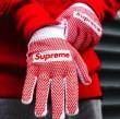十分な耐久性 手袋 2018年春夏絶対手に入れたい! 人気沸騰アイテム シュプリーム SUPREME