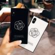 品質保証新作CHANELシャネル iphoneケース コピー ブランドiPhoneXケース耐衝撃カバースマホケース2色可選