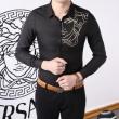 高級素材を採用  2色可選 シャツ VERSACE ヴェルサーチ 人気商品セール