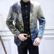 男性スーツ定番アイテム大人雰囲気ゆとりシルエットビジネススタイルDolce&Gabbanaドルチェ&ガッバーナ 偽物 ブランド スーツ