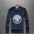 versaceヴェルサーチ tシャツ コピー2018秋冬新作入荷定番人気メンズおしゃれカジュアルロングスリーブTシャツ