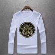 ヴェルサーチ tシャツ コピーversace限定セール新作登場メンズシンプル長袖6色可選クルーネックティーシャツストリート