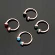 bvlgariブルガリ リング 偽物アクセサリー限定セール低価4カラー可選レッドブラックブルー緑エレガント上品指輪