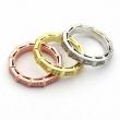 BVLGARIブルガリ リング コピーAN856949結婚指輪Serpentiホワイトゴールドピンクゴールドイエローゴールドダイヤモンドリング