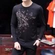 VERSACE ヴェルサーチ ロングTシャツ 優しいフィット感 3色可選 2018一番最高人気 自分らしいスタイリング