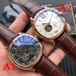 綺麗!海外セレブ風! CARTIER カルティエ 2018年最新人気 さわやかな印象 多色選択可 機械式 男性用腕時計