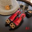 2019年春の新作コレクション 可愛い新モデル ドルチェ&ガッバーナ Dolce&Gabbana ハイヒール 3色可選