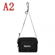 華やかな印象 Supreme 19SS 46th Shoulder Bag  シュプリーム SUPREME 4色可選  斜め掛けバッグ