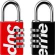 大絶賛 暗号錠 2色可選 厳選した Supreme 19SS Master Lock Numeric  唯一無二の存在