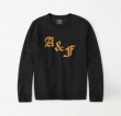 2019年春の新作コレクション 春先に注目を集める アバクロンビー&フィッチ Abercrombie & Fitch  長袖Tシャツ 3色可選