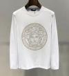 19春夏最新モデル 最も話題となったアイテム ヴェルサーチ VERSACE 長袖Tシャツ 2色可選