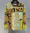 今年のトレンドカラー ヴェルサーチ VERSACE 長袖Tシャツ 2019年春の新作コレクション