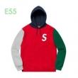 流行色2019秋冬に取り入れたいSupreme 19aw S Logo Colorblocked Hooded Sweatshirt  3色可選 お洒落テクニック