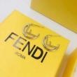 エフ イズ フェンディ イヤリング 可愛いシンプルなデザインで大人気 新作 レディース FENDI コピー 2色可選 デイリー 安価