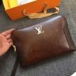 ルイヴィトン クラッチバッグ コピー コーデに高級感を与える限定品 メンズ Louis Vuitton ブランド ブラウン デイリー VIP価格