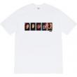 シュプリーム tシャツ 新作 究極的なシンプルさが実現 Supreme メンズ コピー ブラック ホワイト プリント おしゃれ 品質保証