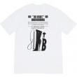 シュプリーム tシャツ メンズ きちんと感あるコーデにぴったり Supreme コピー ホワイト ブラック プリント おしゃれ 日常 安価