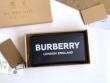 長財布 バーバリー 大人らしく上品なコーデに Burberry メンズ コピー ブラック ロゴ おすすめ 流行継続中 2020人気 最低価格 8009211