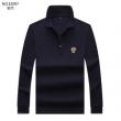 ヴェルサーチ VERSACE 長袖Tシャツ 3色可選 2019秋冬定番コーデ ちょっとよそゆきな日もOK