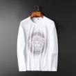 長袖Tシャツ 2色可選 秋冬のコーデに欠かせない定番 2019秋冬定番コーデ ヴェルサーチ VERSACE