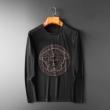 ほっこりとした雰囲気が素敵 2色可選 2019秋冬の新作 ヴェルサーチ VERSACE 長袖Tシャツ