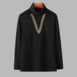 長袖Tシャツ 2色可選 ヴェルサーチ VERSACE 2019年秋に買うべき プチプラに見えない最旬スタイル
