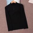 ヴェルサーチ VERSACE 2色可選 長袖Tシャツ 2019秋冬定番コーデ オシャレ上級者に見える