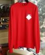 モンクレール セーター コピー コーデにシックさをプラス MONCLER メンズ ブラック レッド ロゴ 可愛い ストリート 最安値