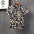 甘すぎない大人の着こなしに 半袖Tシャツ 2色可選  爽やかなデザインに挑戦 ヴェルサーチ VERSACE大人カジュアルコーデ