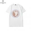2色可選 春夏トレンドをさりげなく先取り 半袖Tシャツ  洗練された雰囲気と清潔感を漂わせる ヴェルサーチ VERSACE