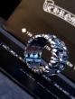 CHROME HEARTS 爆買い大得価シンプルデザ インクロムハーツ ダイヤモンド付き シルバー925指輪 男 12#-24#