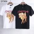 春夏おすすめの人気商品 DSQUARED2 ディースクエアード半袖 Tシャツ かわいいアニマルプリント 男女適用